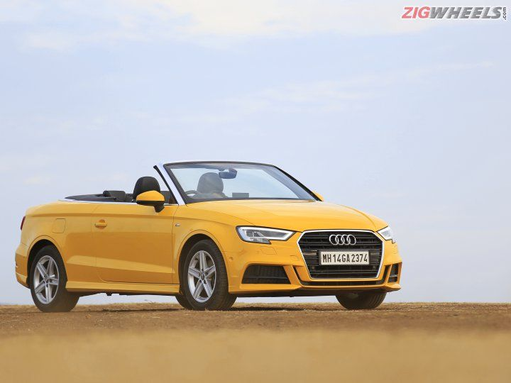 audi a3 cabriolet road test review zigwheels. Black Bedroom Furniture Sets. Home Design Ideas