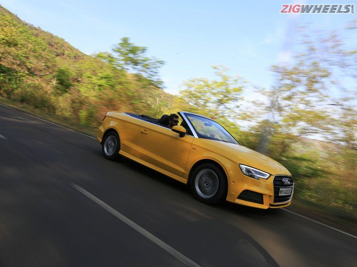 Audi A3 Cabriolet Road Test Review Zigwheels