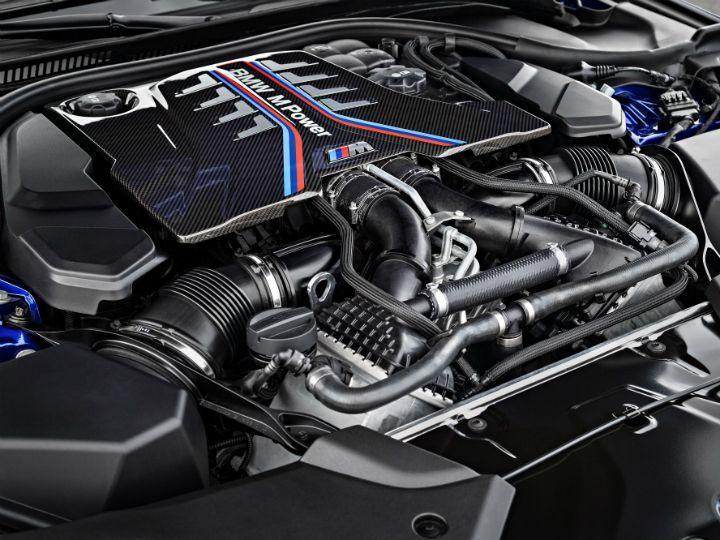 BMW M5 2018 engine