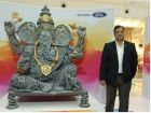 Ford Makes 6.5-Feet Tall Idol Of Lord Ganesha Out Of Spare Parts