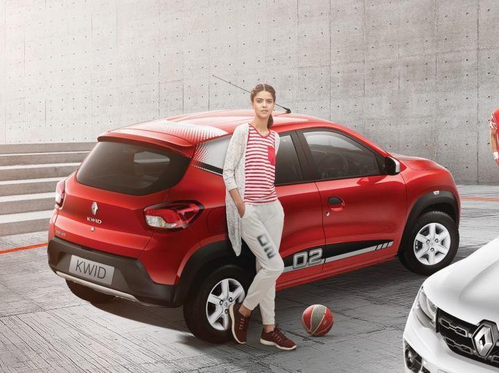 Renault Kwid 02 Anniversary Edition