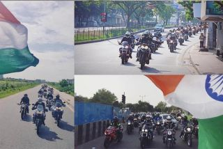 Indian And Triumph Motorcycles Celebrate Independence Day With A Ride