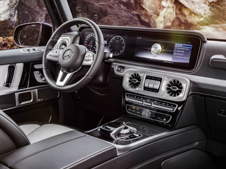 Mercedes-Benz G-Class Interiors