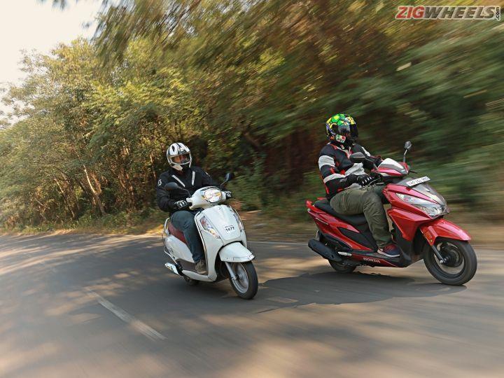 Honda Grazia VS Suzuki Access 125
