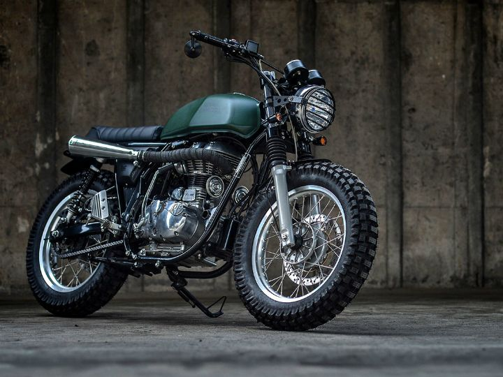Meet The Royal Enfield Continental GT Scrambler