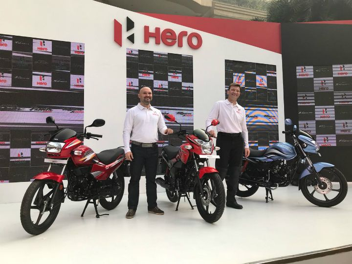 Hero MotoCorp Launches Three New Motorcycles