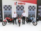 Hero MotoCorp Unveils Three New Motorcycles