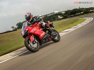 TVS Apache RR310 : First Ride Review