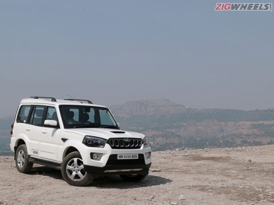 2017 Mahindra Scorpio Facelift: Road Test Review