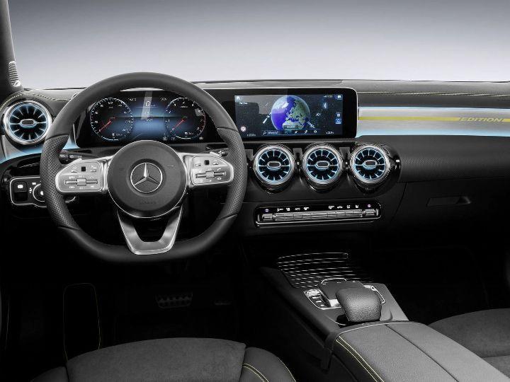 Next Gen Mercedes Benz A Class To Feature New Infotainment