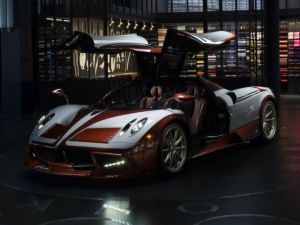 Pagani Huayra Lampo Pays Homage To Turbine Propelled Fiat