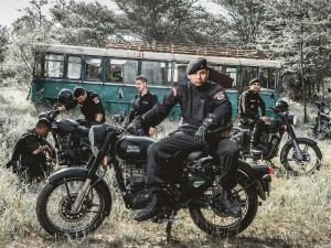Royal Enfield Classic 500 Ridden By NSG Commandos Sold Out
