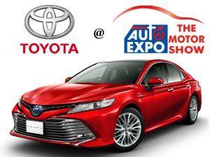 Auto Expo 2018: Toyota Cars And SUVs