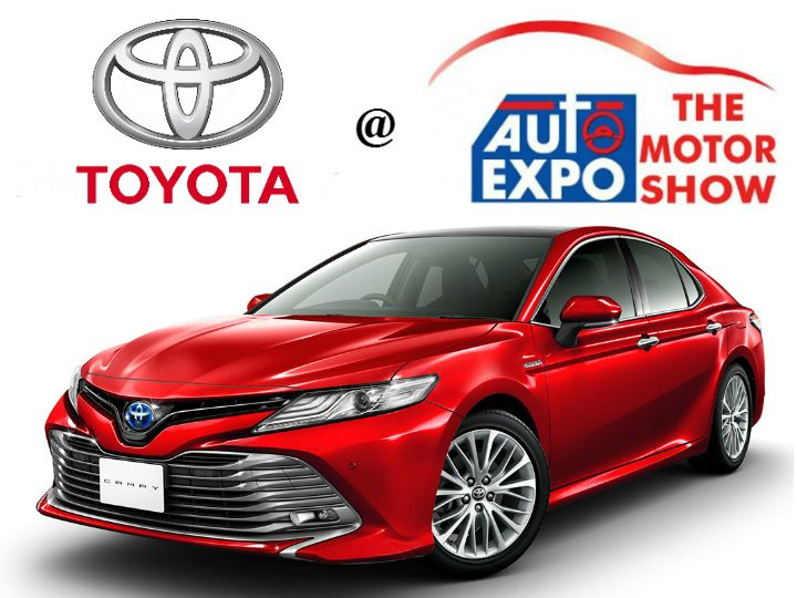 Toyota at the Auto Expo 2018