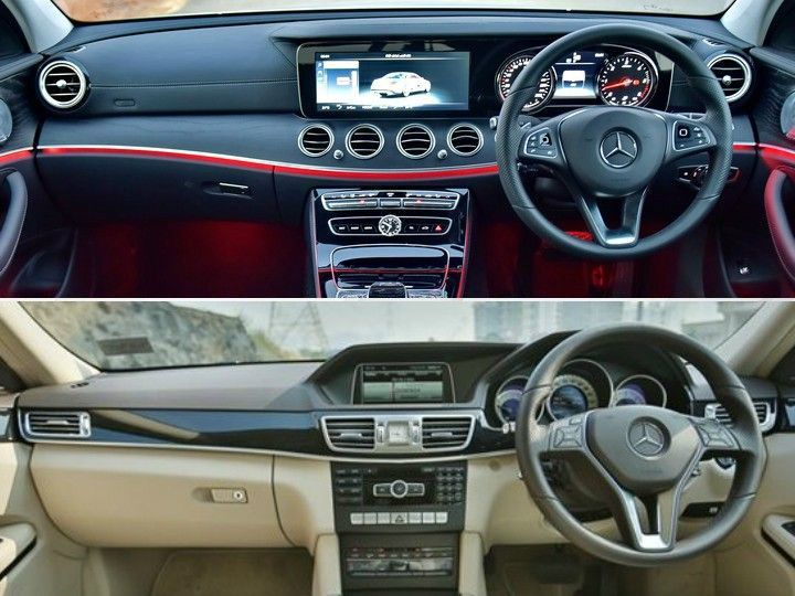2017 mercedes benz e class old vs new zigwheels. Black Bedroom Furniture Sets. Home Design Ideas