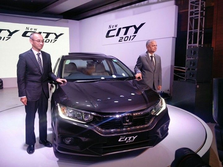 Honda City Facelift