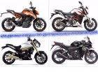 KTM 250 Duke vs Benelli TNT 25 vs Mahindra Mojo vs Honda CBR250R Spec Comparo
