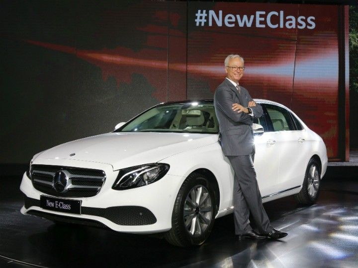 Mercedes Benz launches the new E Class