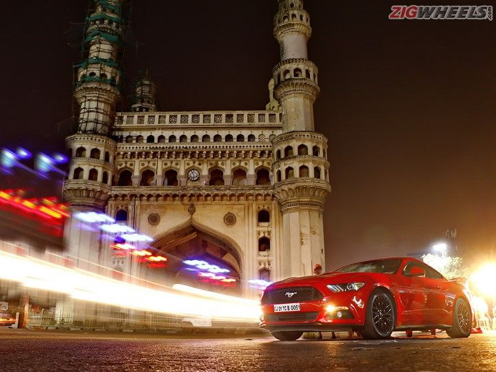 Ford Mustang Drive Hyderabad