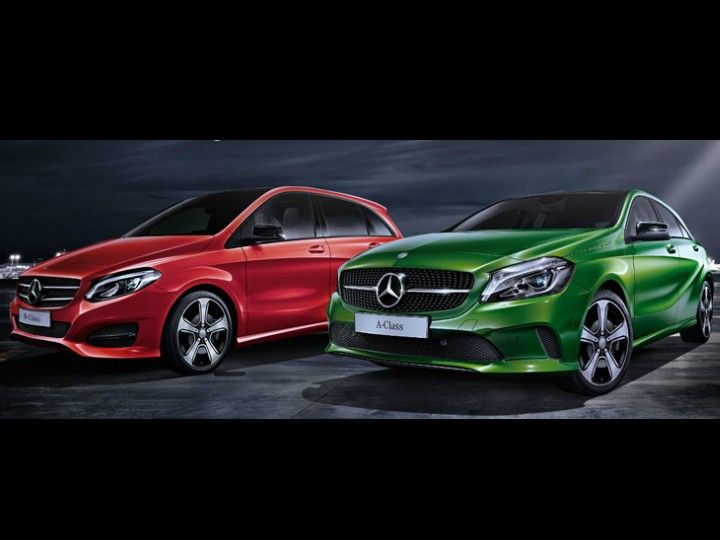 2017 Mercedes-Benz A-Class Night Edition and B-Class Night Edition