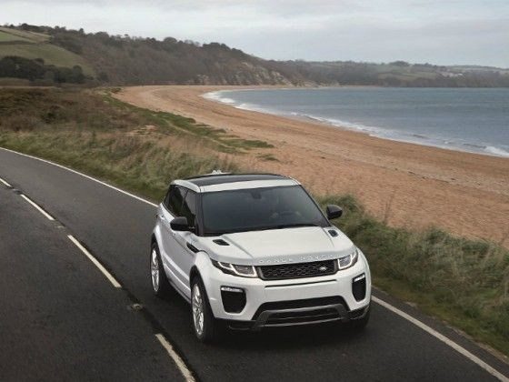 Range Rover Evoque Now Available With Petrol Engine!