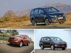 Tata Hexa XT vs Mahindra XUV500 W10 vs Toyota Innova Crysta ZX 2.4: Spec Comparison