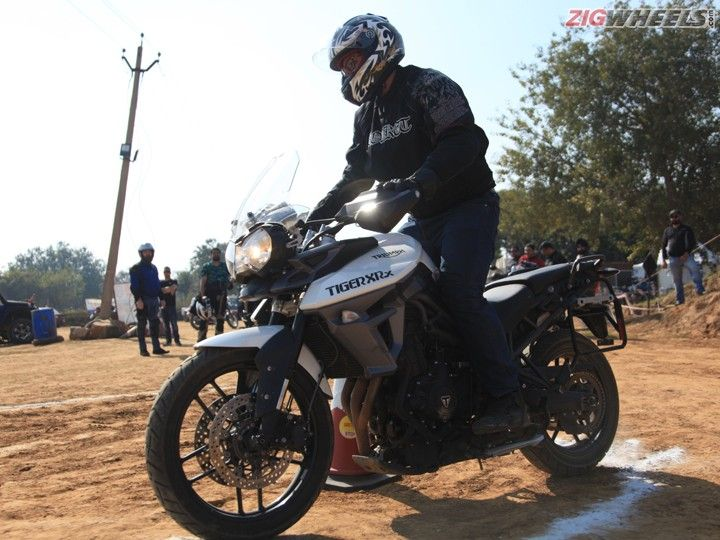 Triumph Tiger Training Academy: Action Pic
