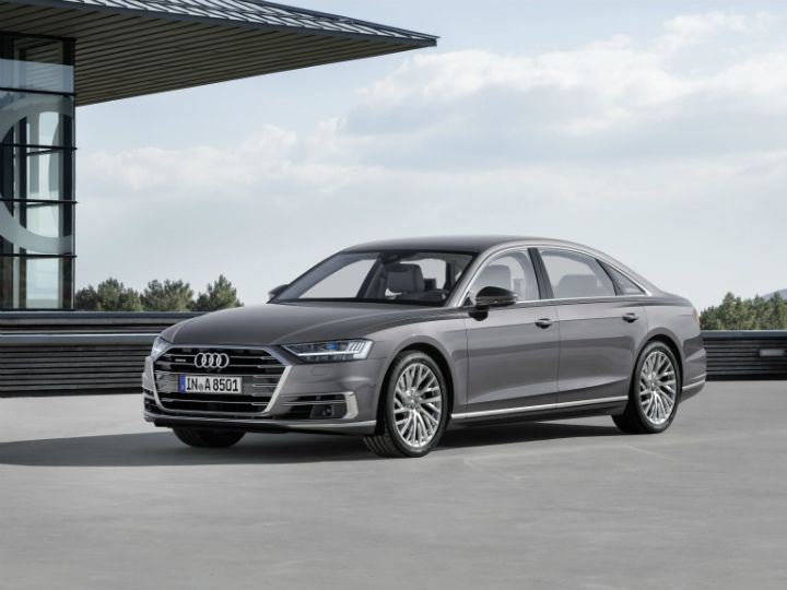 2018 audi a8 breaks cover india launch likely next year zigwheels. Black Bedroom Furniture Sets. Home Design Ideas