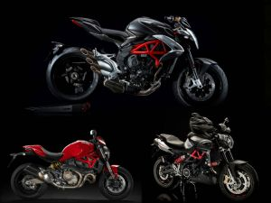 MV Agusta Brutale 800 vs Ducati Monster 821 vs Aprilia Shiver 900: Spec Comparison