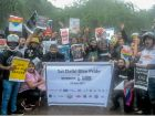 LGBT Community And Supporters Ride For Pride In Delhi