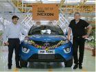 First Tata Nexon Rolls Off The Factory