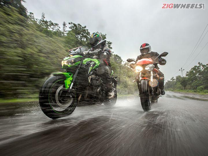 Triumph Street Triple S vs Kawasaki Z900