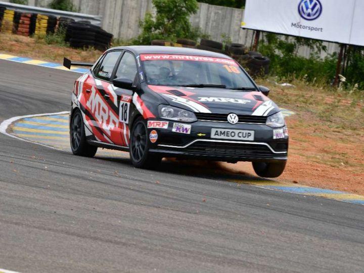 VW Ameo Race Car experience