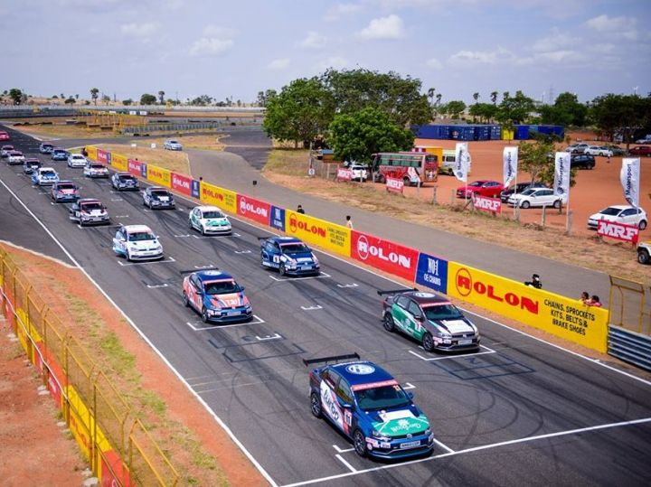 VW Ameo Cup Race Round 1