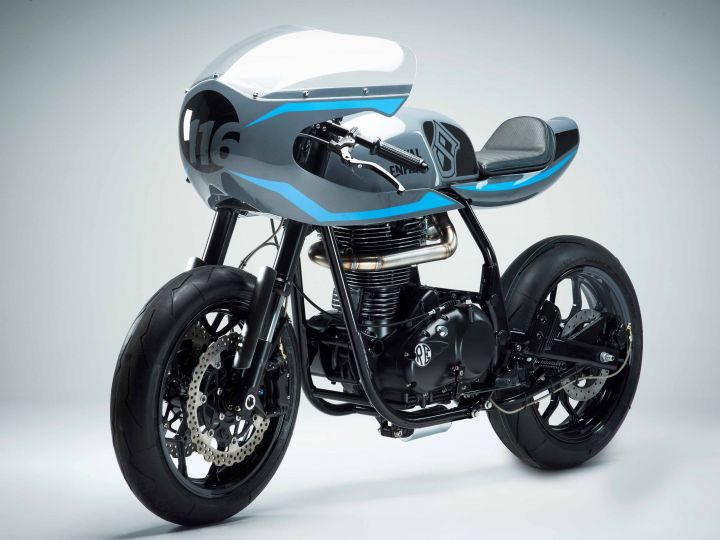 Royal Enfield Unveils Surf Racer And Gentleman Brat Motorcycles