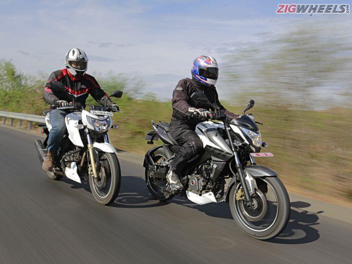Bajaj NS200 vs TVS RTR 200