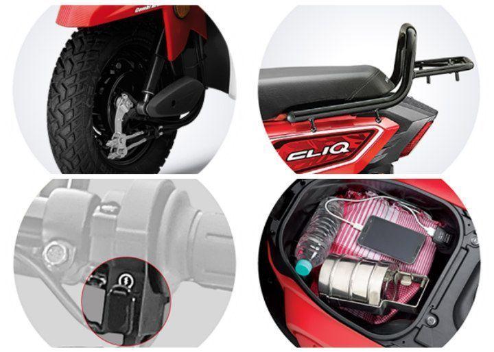 Enjoyable Spec Comparison Honda Cliq Vs Honda Navi Vs Honda Activa 4G Evergreenethics Interior Chair Design Evergreenethicsorg