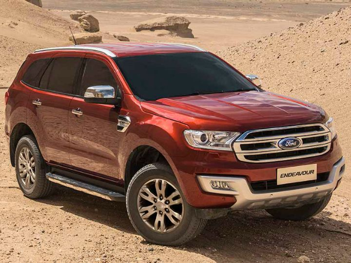 Ford Endeavour Variants Discontinued