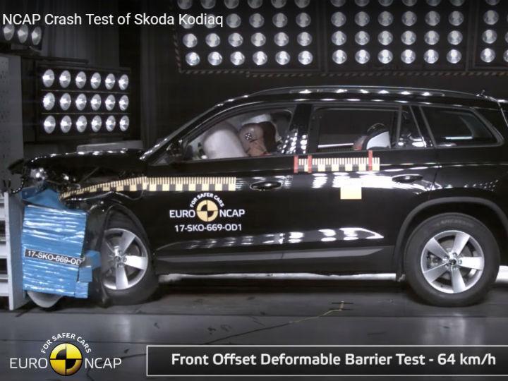 Kodiaq crash test