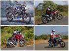 Bajaj Pulsar NS160 vs Honda CB Hornet 160R vs Suzuki Gixxer vs Yamaha FZ-S FI- Spec Comparison