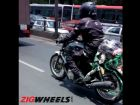 Upcoming Royal Enfield Twin-Cylinder Bike Spotted Testing