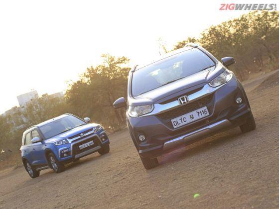 Honda WR-V vs Maruti Vitara Brezza: Comparison Review