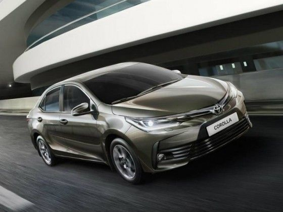 Toyota Corolla Altis Facelift Launched At Rs 15.87 Lakh
