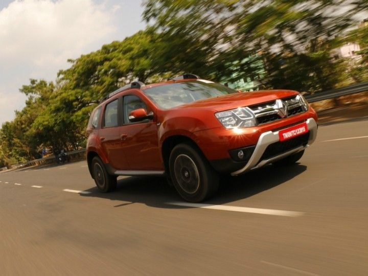 Renault Duster received a facelift in 2016