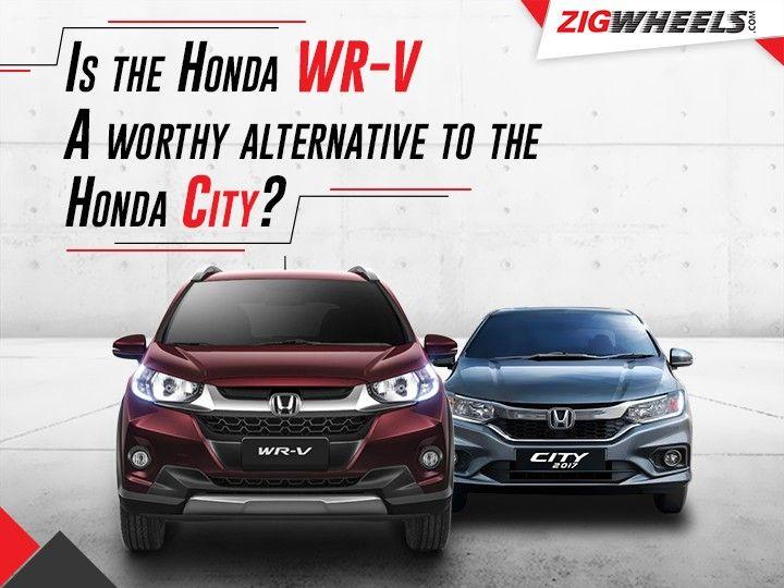 Honda WR-V vs City