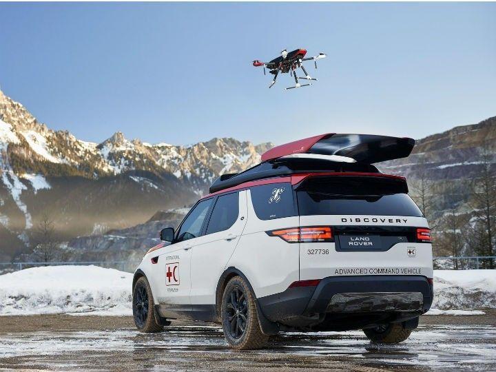Geneva Motor Show 2017 Land Rover Displays Discovery