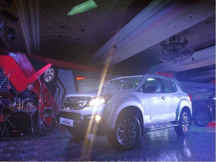 Isuzu MU-X launched
