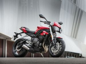 Bookings commence for the 2017 Triumph Street Triple 765