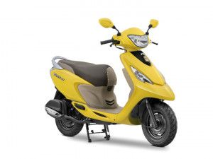 2017 TVS Scooty Zest 110 Launched