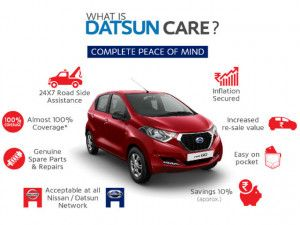 Datsun Launches 5-Year Maintenance Plan For redi-GO